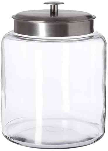 2 gallon glass jar